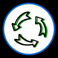 Symbol nachhaltig
