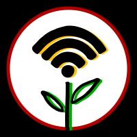 Symbol städtisch und ländlich