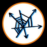 Symbol vernetzend