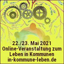 22./23.05.2021: Online-Veranstaltung zum Leben in Kommunen